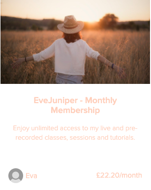 Evejuniper Yoga Monthly